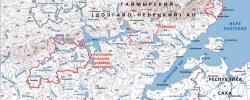 Карта Заповедников России
